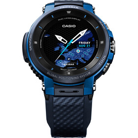 CASIO PRO TREK SMART WSD-F30-BUCAE Reloj Inteligente Hombre, blue/blue/grey